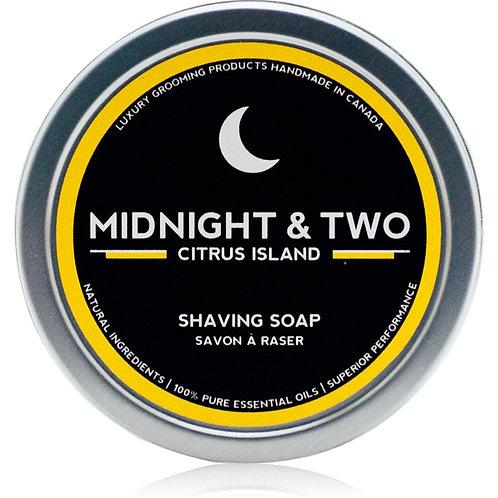 Midnight & Two - Shaving Soap Citrus Island (60g)