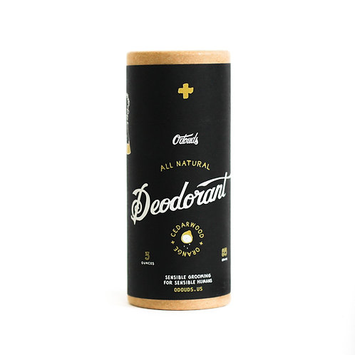 O'Douds - Cedarwood+Orange Deodorant (3oz)