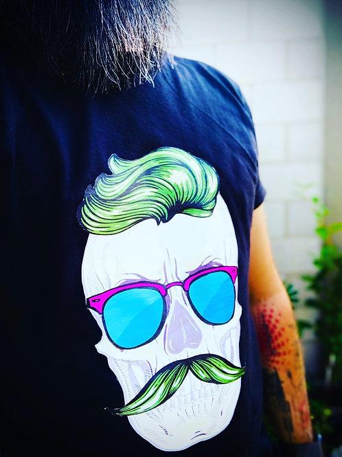 Men in Barbe - Black T-Shirt for Men