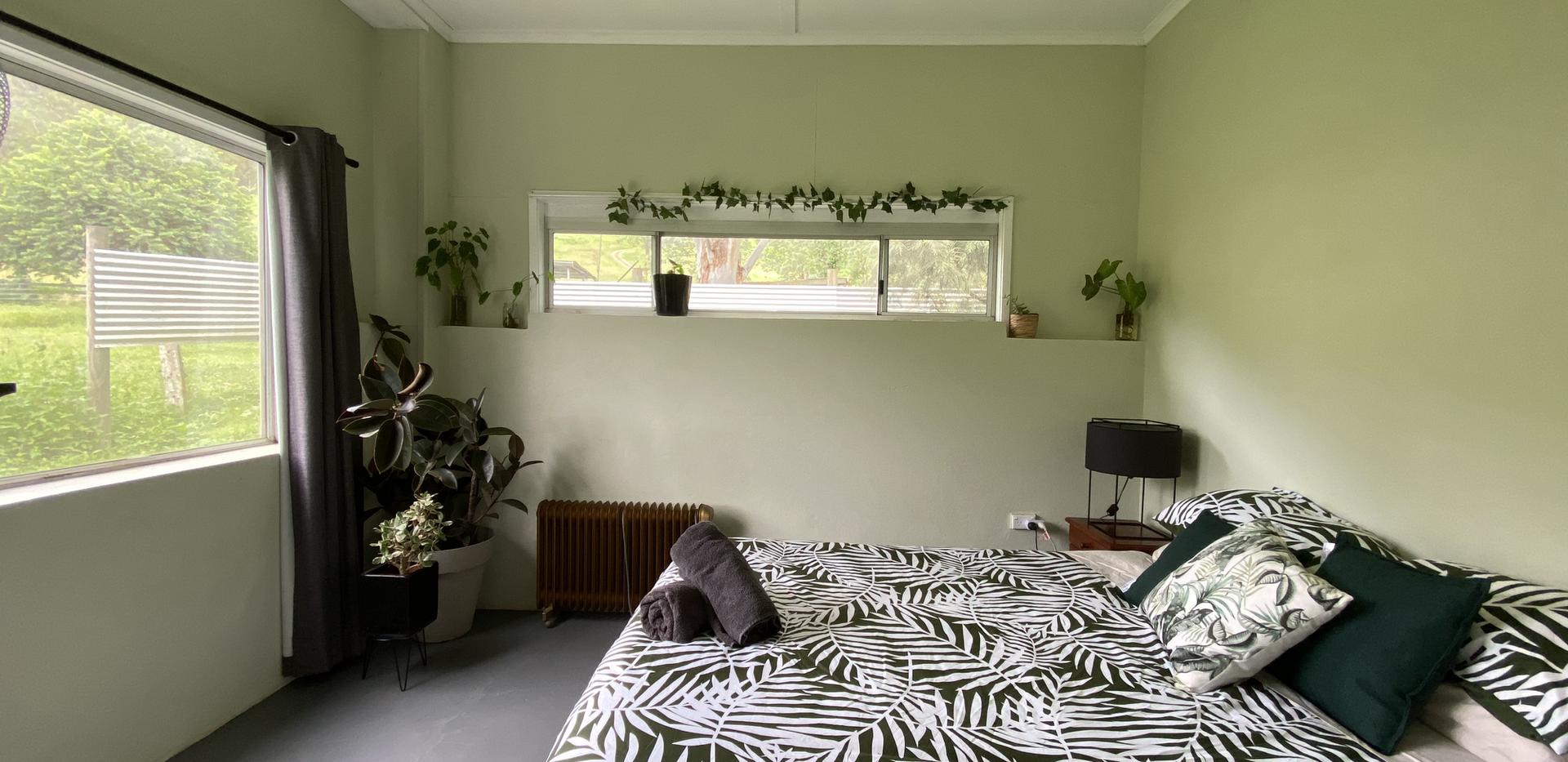 Jungle House Main Bedroom