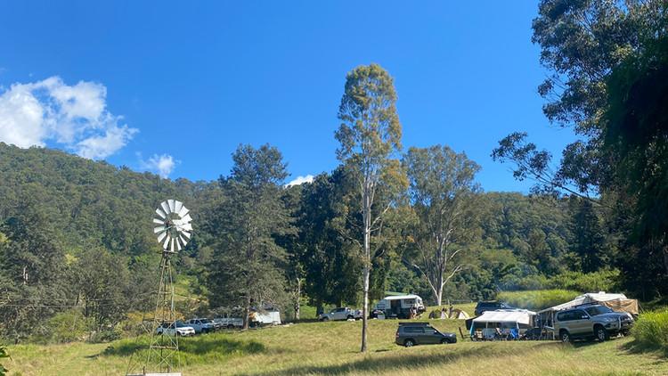 Windmill Field Powered Area