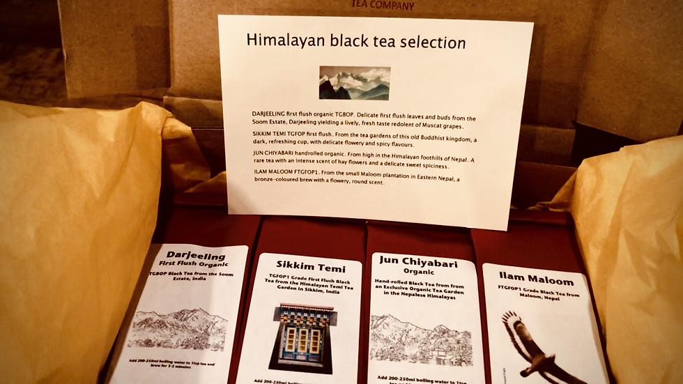 Gift Selection: Himalayan Black Teas