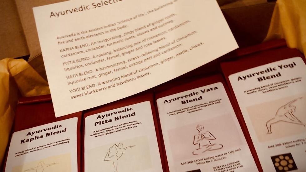 Gift Selection: Ayurvedic Blends