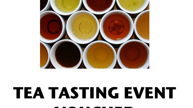 Tea Tasting Event Voucher