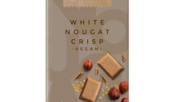 i Choc White Nougat Crips Chocolate