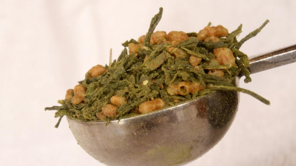 Genmaicha Organic (Brown Rice Tea) オーガニック 75g