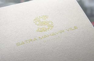 Satra Mahavir Vile Logo Design