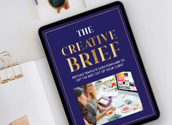 The Innovative Creative Design Brief