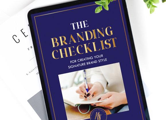The Understanding Branding Checklist