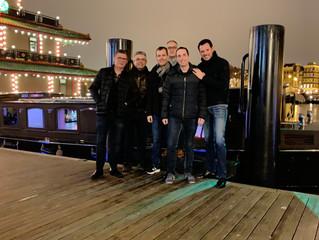 L'équipe commerciale en visite à Amsterdam : Les ventes Télécom B2B continuent à grimper sur Le