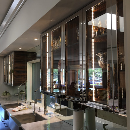 Mirror Polished Cabinet Doors - BHLI