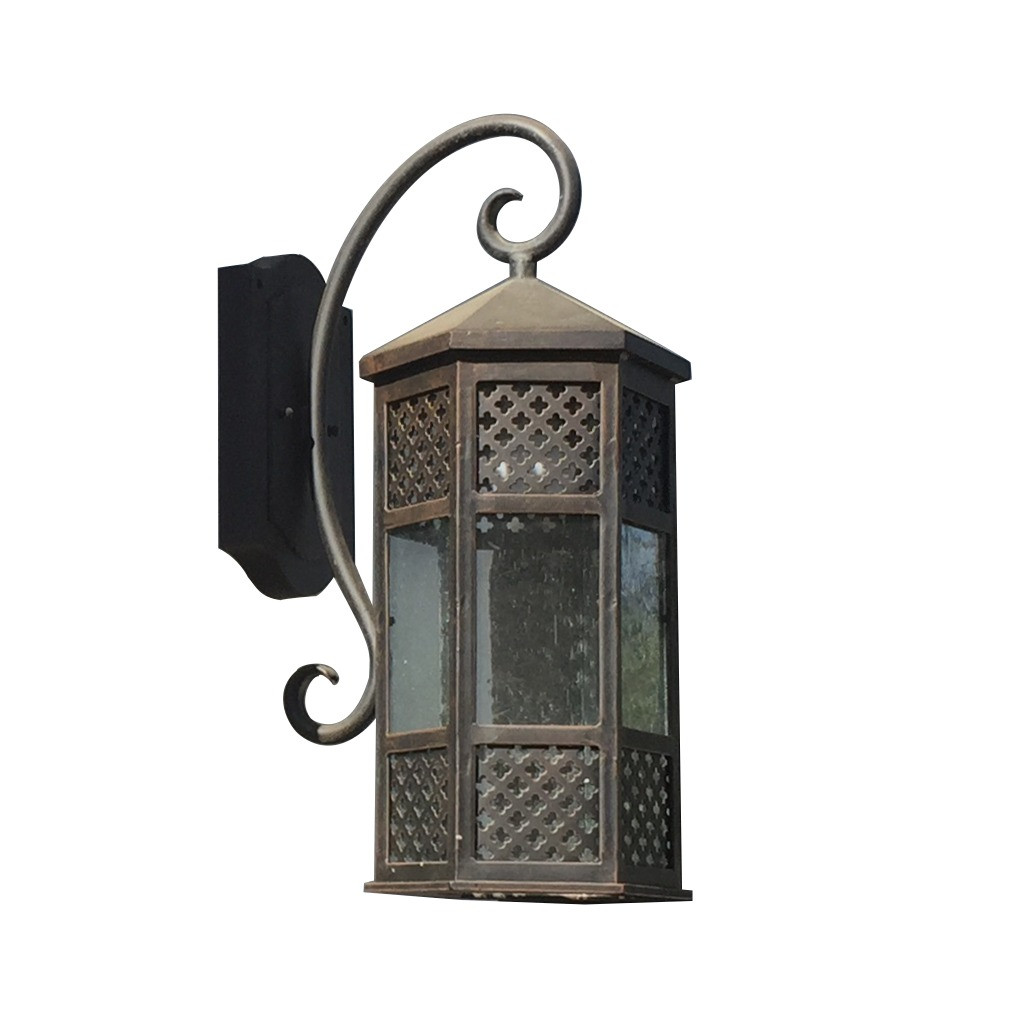 Lucian Med Exterior Sconce