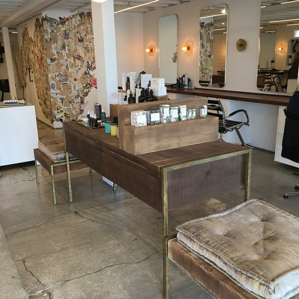 Bespoke Furniture Fixtures - Tress Salon