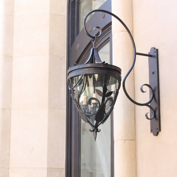 Forged Iron Lighting - Jeanette Christian Design Associates