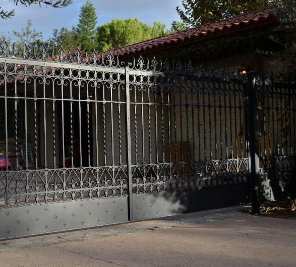 Iron Estate Gates