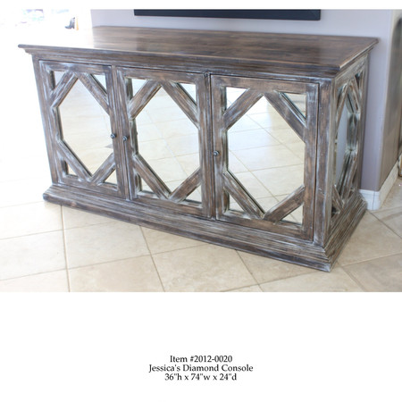 Hand Carved Console- A. Feore Design