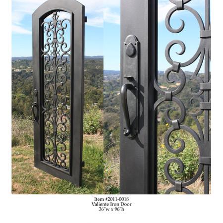 Valiente Iron Door - Sarah Akbary Designs