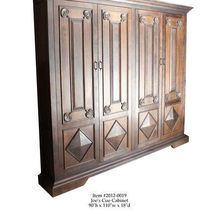 Wood Carved Armoire