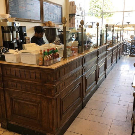 French Bakery Breakfront - Chaumont