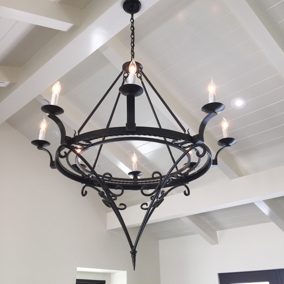 Iron Chandelier by A. Feore - Minkoff