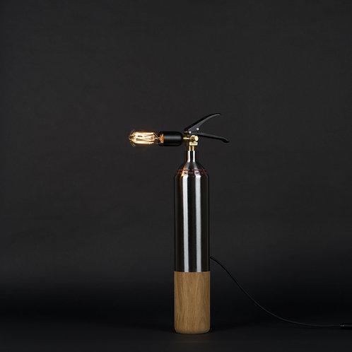 Lampe Oak Steel - M
