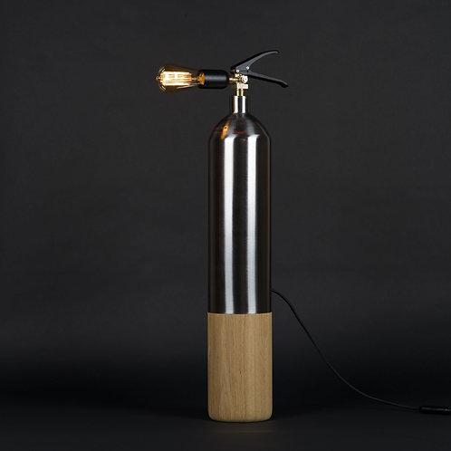 Lampe Oak Steel - L