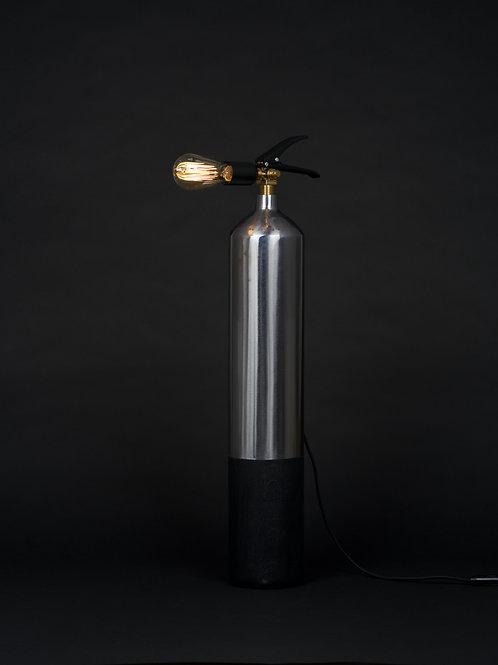 Oak Steel Burned - L