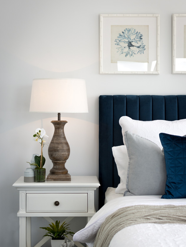 Bedheads add a feeling of luxury to any bedroom.