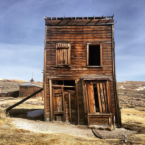 Bodie Ghost Town, Mono Lake, California.