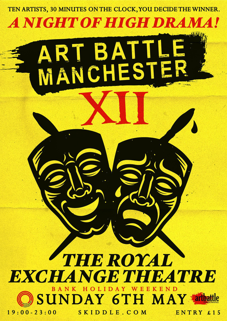 art battle manchester xii - a night of high drama on sunday 6th may 2018 - Featuring Emma Evans