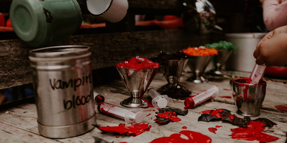 SUN: This is Halloween! Messy Play