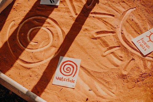 Indigenous Australian Aboriginal Symbols Cards