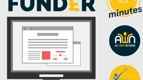 AWN Webinar: Find a Funder with Ian from #CharityExcellence