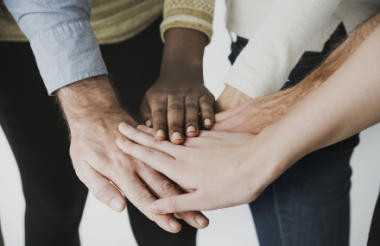 Working together could help charities to rebuild