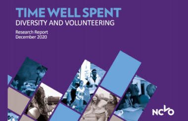 'How we talk about volunteering may need a re-think to be more inclusive,' NCVO says