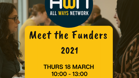 Meet the Funders is back!