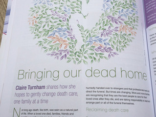 Juno Magazine Care In Death
