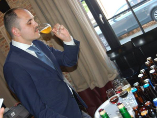 Time to put the finalists for Best sommelier of Belgium in the spotlight: Stéphane Dardenne