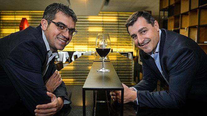 Ferran with Josep Roca by El Periodico