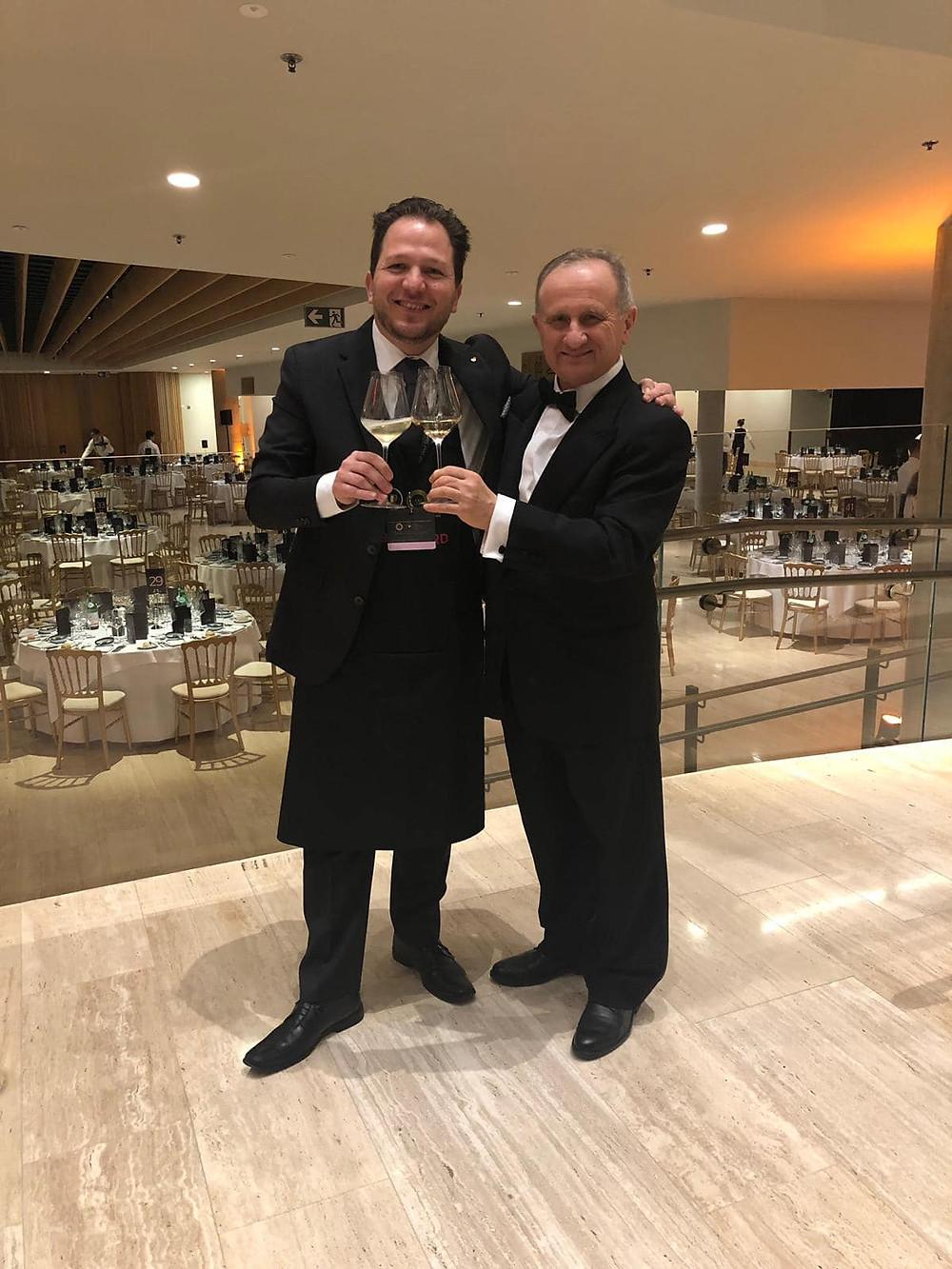 Daniele with Giuseppe Vaccarini