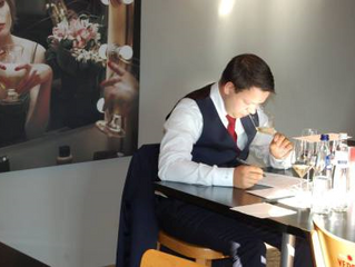 Time to put the finalists for Best Sommelier of Belgium 2016 in the spotlight: Joery De Lille