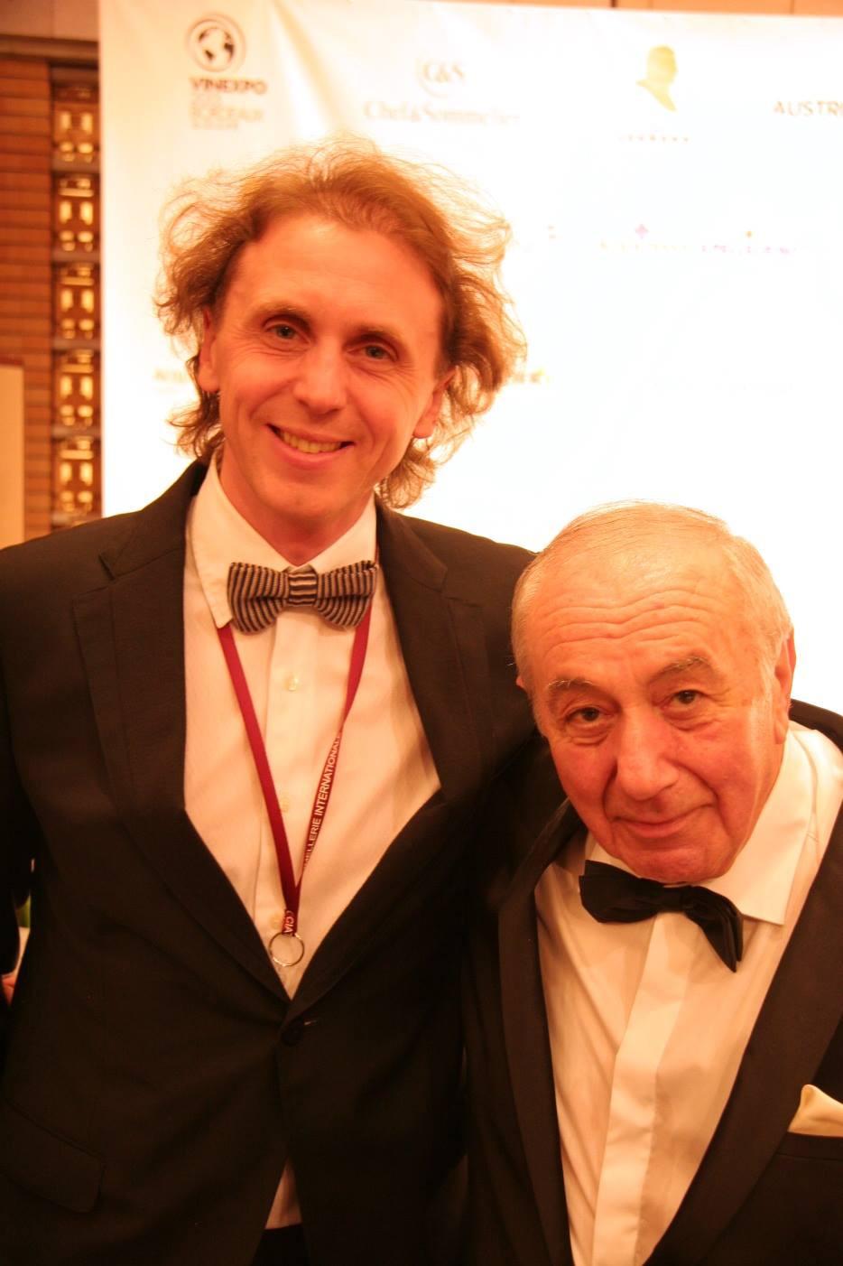 Arūnas with Armand Melkonian (1st world champion)