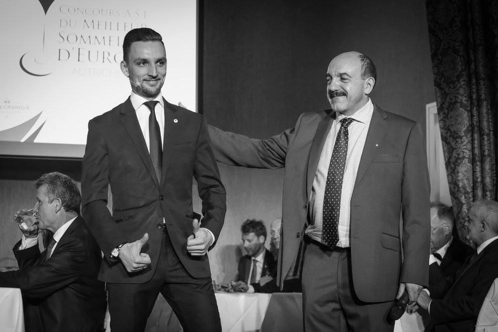 Piotr with Gerard Basset Vienna 2017