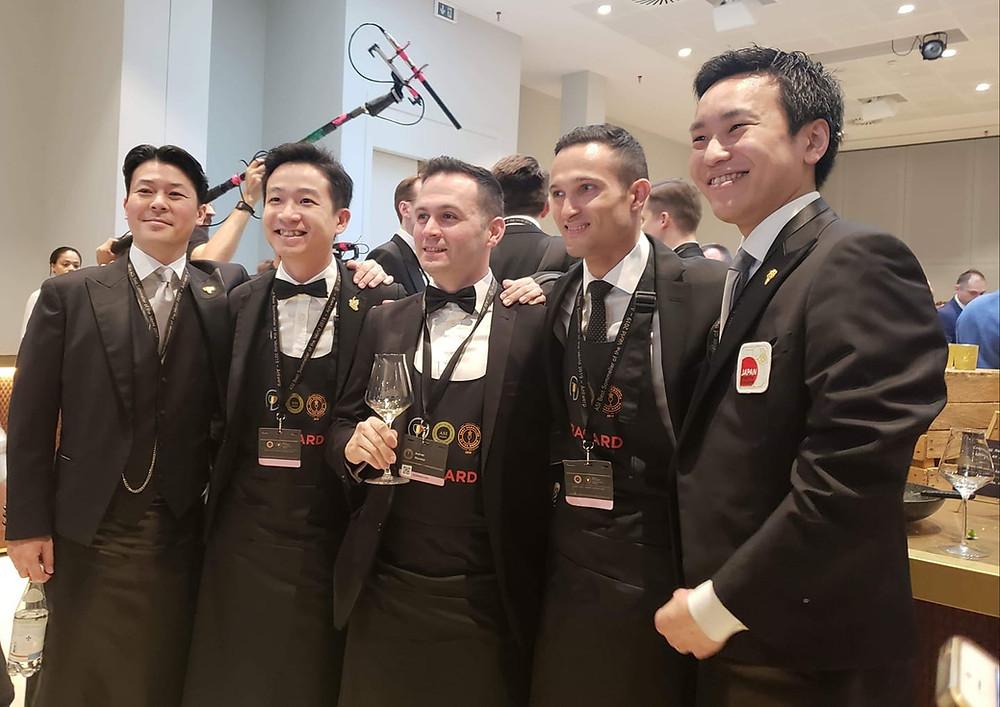 Asian semi-finalist Best Sommelier of the World 2019