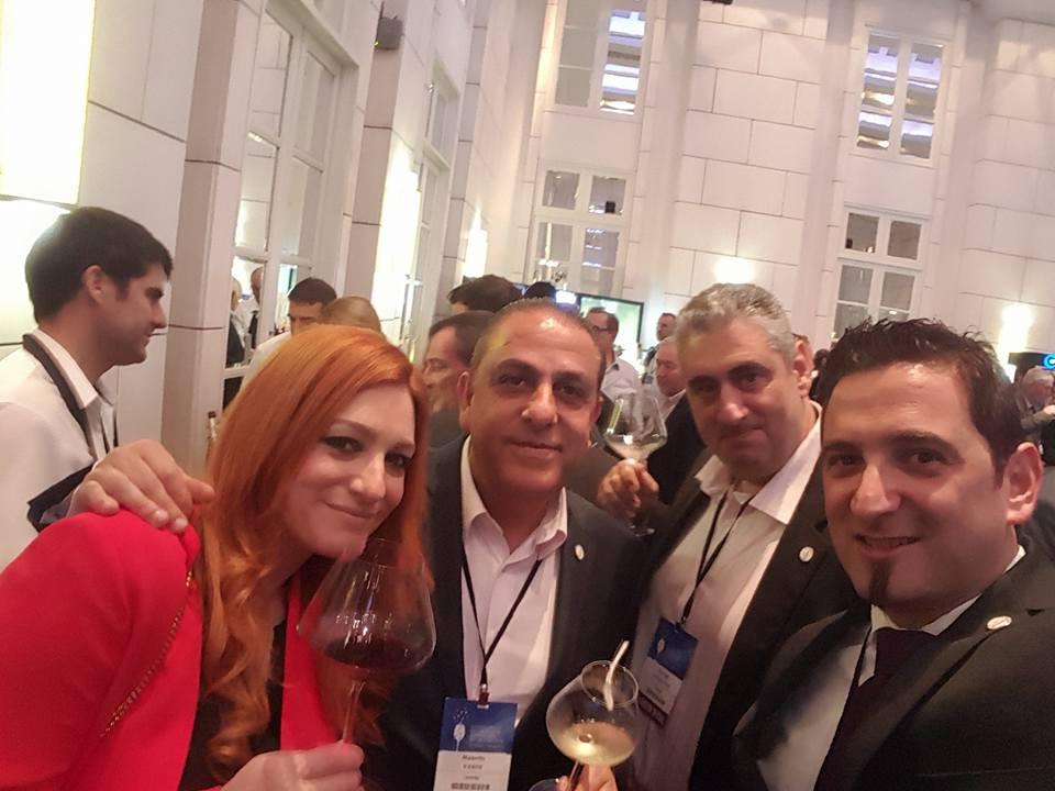 Stalo Arambantzi, Vasos Manoli, Georgios Kassianos and Andreas