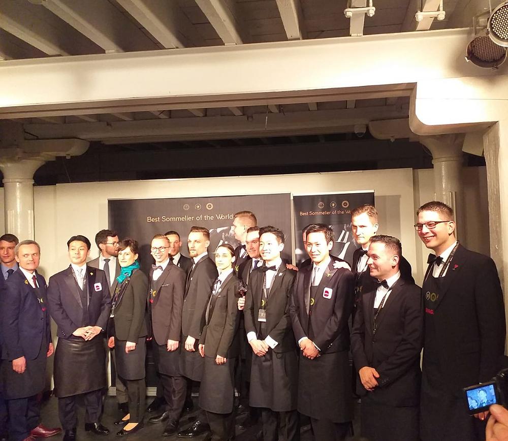 Semi-finalists Best Sommelier of the World 2019 in Antwerp