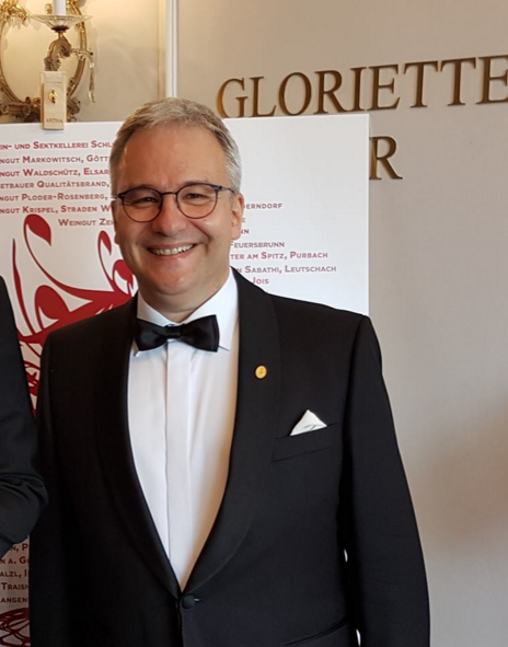 Markus at the ASI Best Sommelier of Europe contest 2017 Vienna