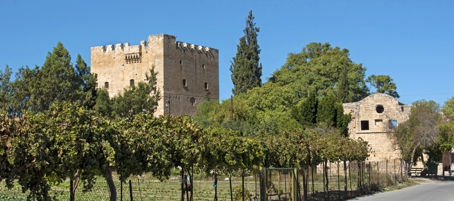 Kolossi Castle by visit cyprus
