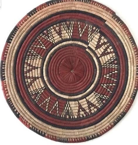African Wall Basket / Panier Mural Africain