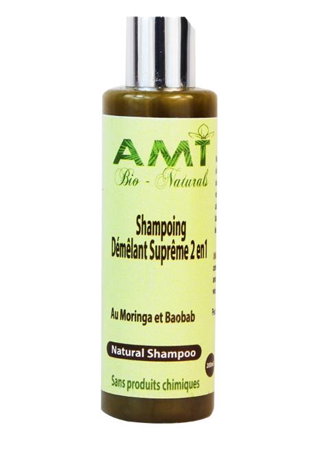 Shampoo & Conditionner w/ Moringa & Baobab / Shampoing